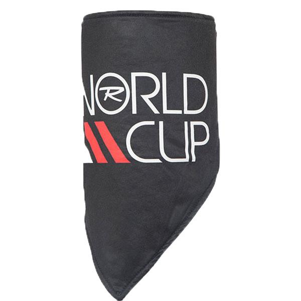 【SALE】ROSSIGNOL ロシニョール スキーネッカチーフ RLGMH15 WORLDCUPTRIANGLE 200/BLACK