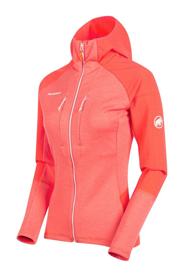 MAMMUT  Eiger レディースジャケット W/CA JK 1014-02330 Eiswand Advanced ML Hooded Jacket Women 3218 barberry