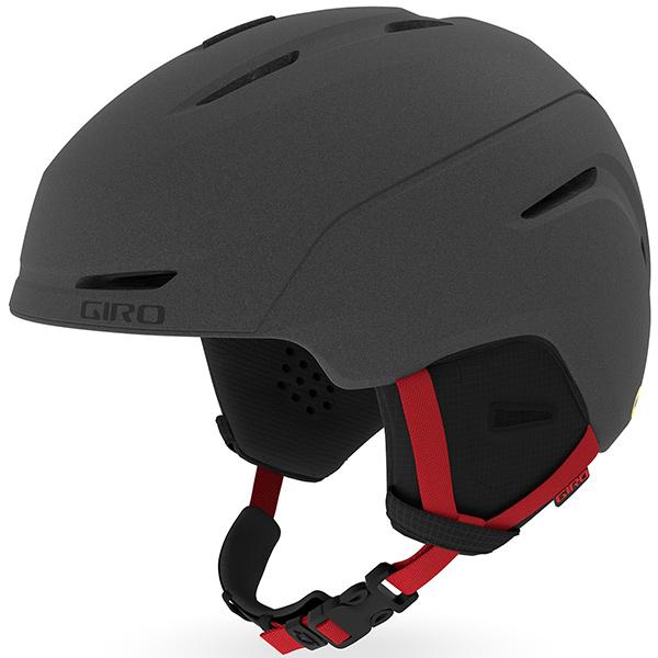 GIRO ジロ ジュニアスキーヘルメット NEO JR MIPS (ASIAN FIT) MATTE GRAPHITE/BRIGHT RED