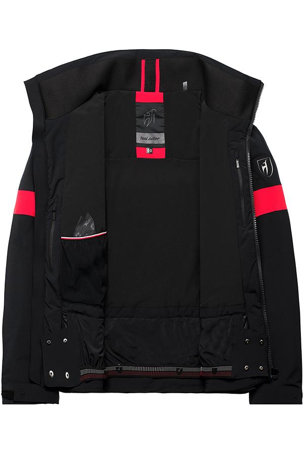 NEW Toni Siler メンズ スキージャケット 301127D VICTOR SPLENDID 100 BLACK