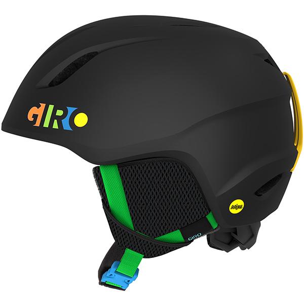 GIRO ジロ ジュニアスキーヘルメット LAUNCH MIPS MATTE BLACK/PARTY BLOCKS