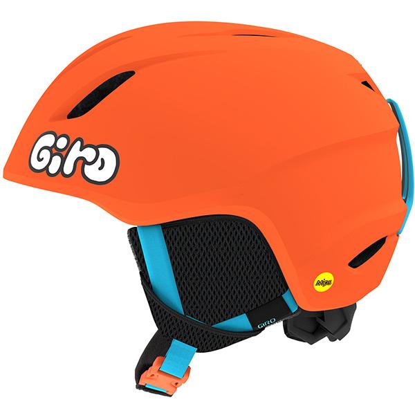 GIRO ジロ ジュニアスキーヘルメット LAUNCH MIPS MATTE BRIGHT ORANGE/JELLY