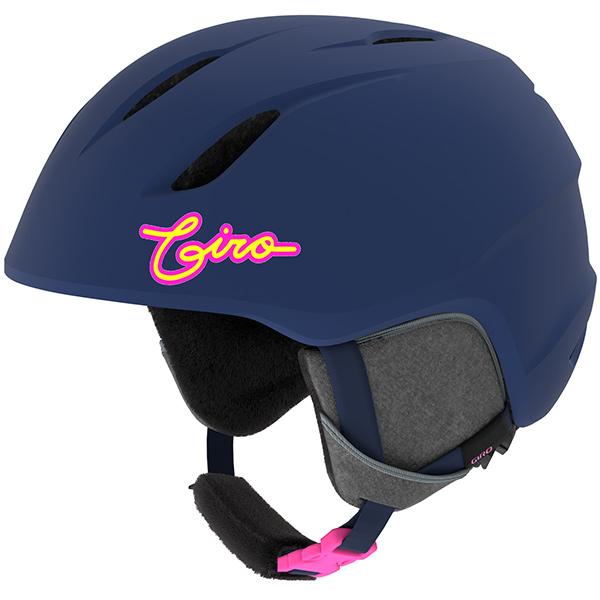 GIRO ジロ ジュニアスキーヘルメット LAUNCH MATTE MIDNIGHT/NEON LIGHTS