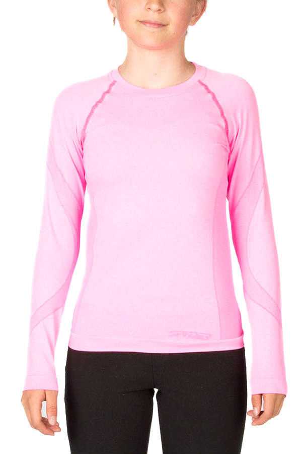 SALE 50%OFF SPYDER スパイダー Girl's CHEER TOP(BOXED) 156567 キッズ ガールズアンダーシャツ