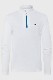 KJUS ガールズ スキーインナージャケット GS25-G02 Girls Jade Harf-Zip 10000  white