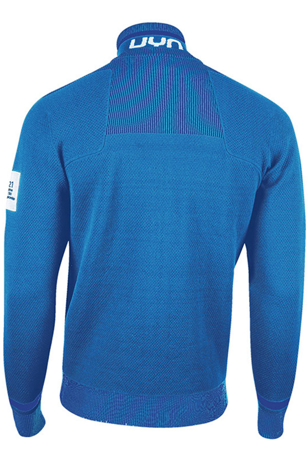 UYN メンズアンダージャケット MIDDLE LAYER MAN ATHLESYON SKI KINITTED 2ND LAYER FULL ZIP CORTINA  O101779-93 K277 BLUE/SNORKEL BLUE