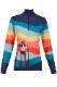 NEW KRIMSON KLOVER レディース スキーインナーシャツ SHIRT 1689 Peace Love Ski 1/4Zip 405 indigo