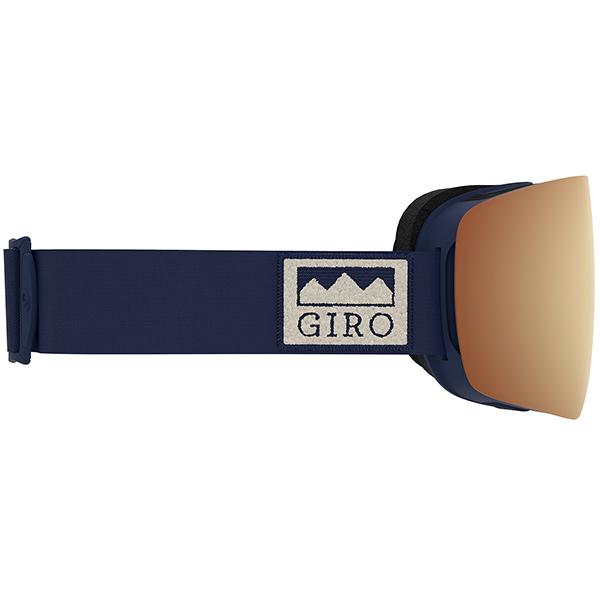 GIRO ジロ スキーゴーグル CONTOUR (ASIAN FIT) MIDNIGHT ALPS Vivid Copper/Vivid Infrared