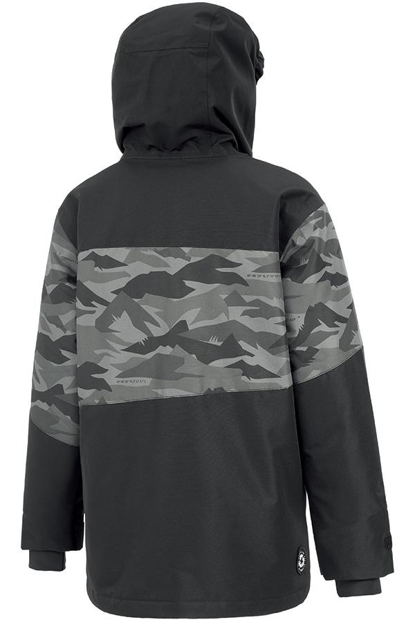 WHITE SALE 30%OFFPICTURE ジュニアスキージャケット KVT059 MILO JKT Black