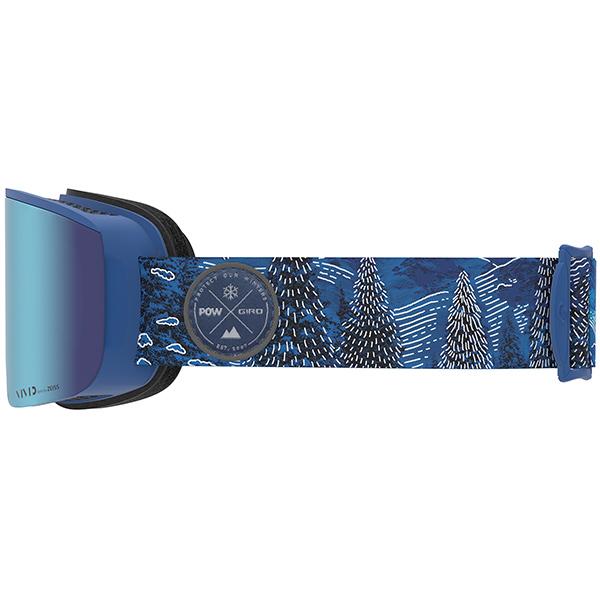 GIRO ジロ スキーゴーグル AXIS (ASIAN FIT) POW Vivid Royal/Vivid Infrared