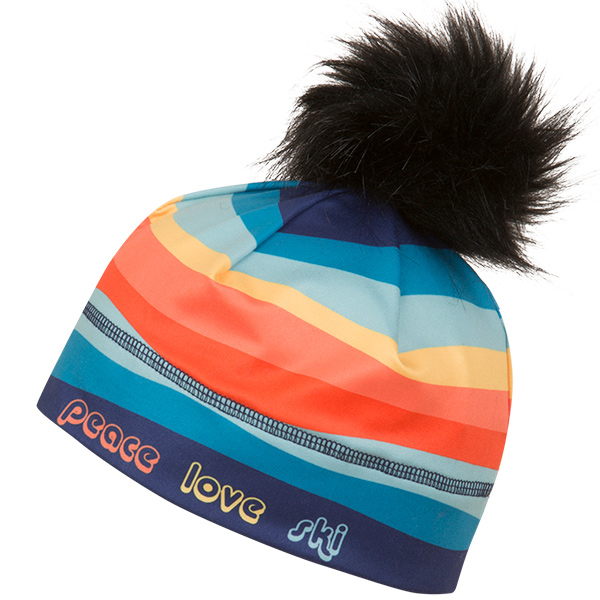 NEW KRIMSON KLOVER レディース スキーキャップ CAP 1471 Illustrated Beanie7 497 PeaceLove Ski