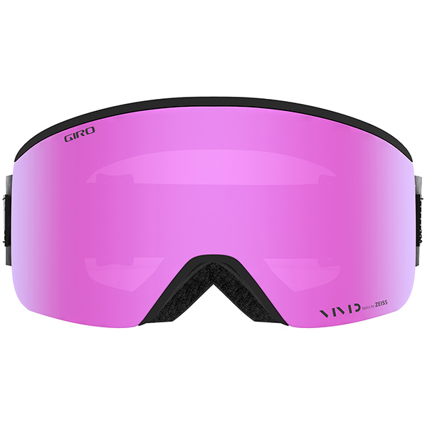 GIRO ジロ スキーゴーグル ELLA (ASIAN FIT) BLACK WHITE COSMOS Vivid Pink/Vivid Infrared