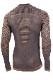 UYN メンズアンダーシャツ FUSYON CS UW SHIRT LG SL ROUND NECK S070-  CelebrityGold