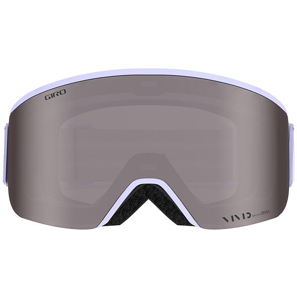 GIRO ジロ スキーゴーグル ELLA (ASIAN FIT) FLUFF PURPLE MONO Vivid Onyx/Vivid Infrared
