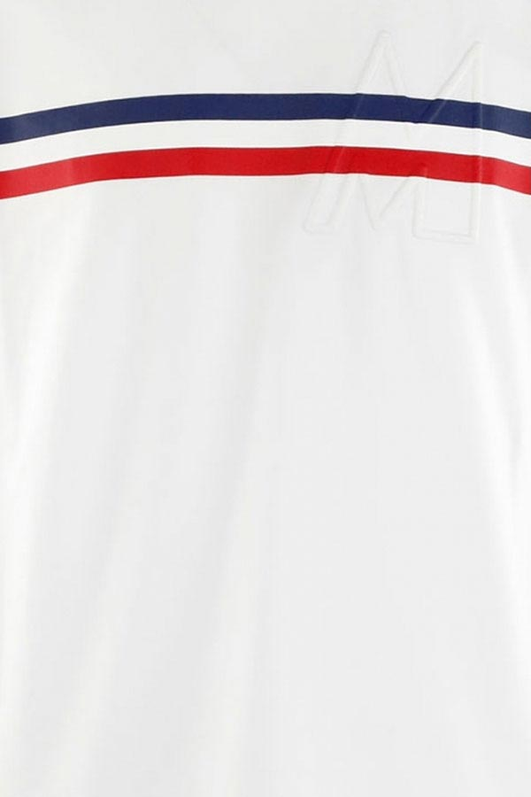 MONCLER モンクレール カットソー メンズ 8C755-10-8390T MAGLIA T-SHIRT 001/WHITE
