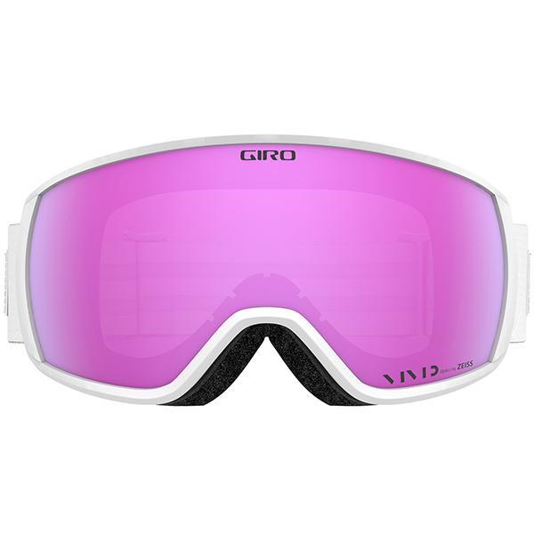 GIRO ジロ スキーゴーグル FACET (ASIAN FIT)  WHITE IRIDESCENT Vivid Pink