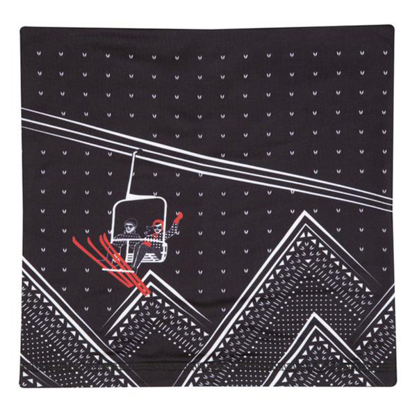 KRIMSON KLOVER レディース スキーゲーター NECK WARMER 1472 Illustrated Gaiters 001 Adrenaline Black
