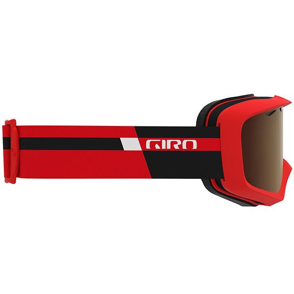 GIRO ジロ ジュニアスキーゴーグル GRADE BLACK RED PODIUMAmber Rose