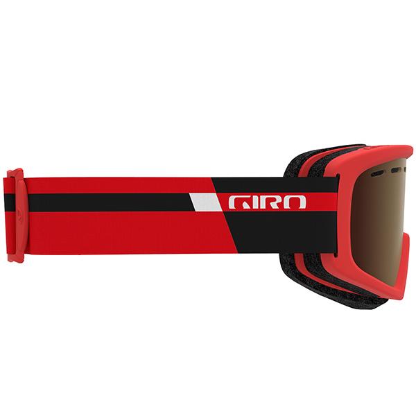 GIRO ジロ ジュニアスキーゴーグル REV BLACK RED PODIUMAmber Rose