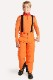 KJUS ボーイズ スキーインナージャケット BS25-G03 Boys Carger Harf-Zip 80010 k orange-scarlet