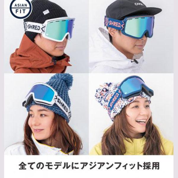 SHRED スキーゴーグル MONOCLE BIGSHOW YELLOW CBL PLASMA