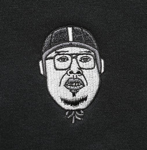 【パンクドランカーズxくっきー】 パーカー ブラック