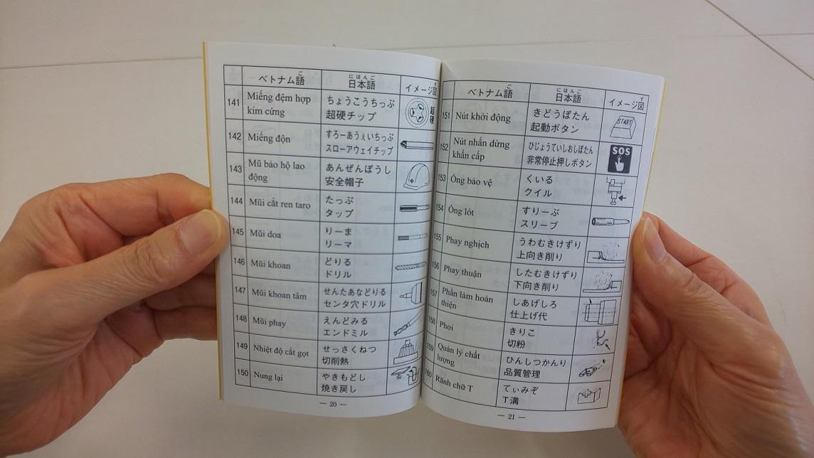 外国人技能実習生のための専門用語対訳集 〔基本用語作業〕