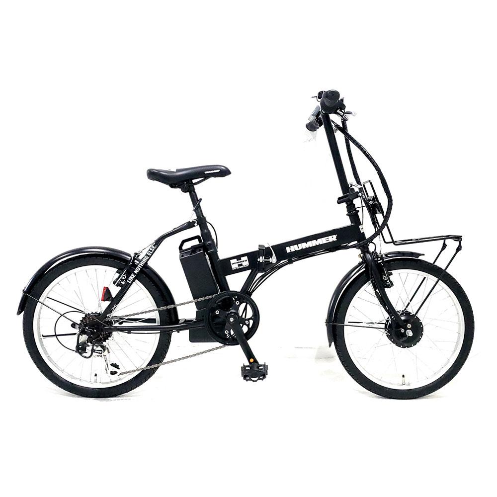 HUMMER ハマー 電動自転車 折り畳み NX-HMF206 20インチ 5.8Ah