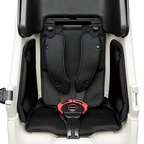 Panasonic パナソニック リールベルト付チャイルドシート用 クッションセット ブラック ストライプブラック ストライプグレー NCB286S NCB300S NCB301S