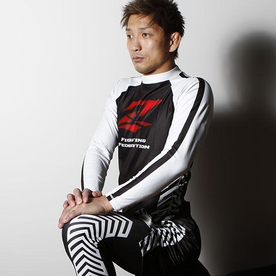 RZ-017 RIZIN長袖ラッシュガード アローモデル