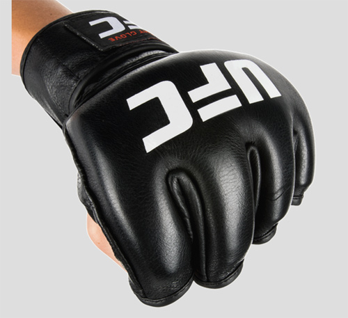 UFC OFFICIAL FIGHT GLOVES MMA オープンフィンガー グローブ