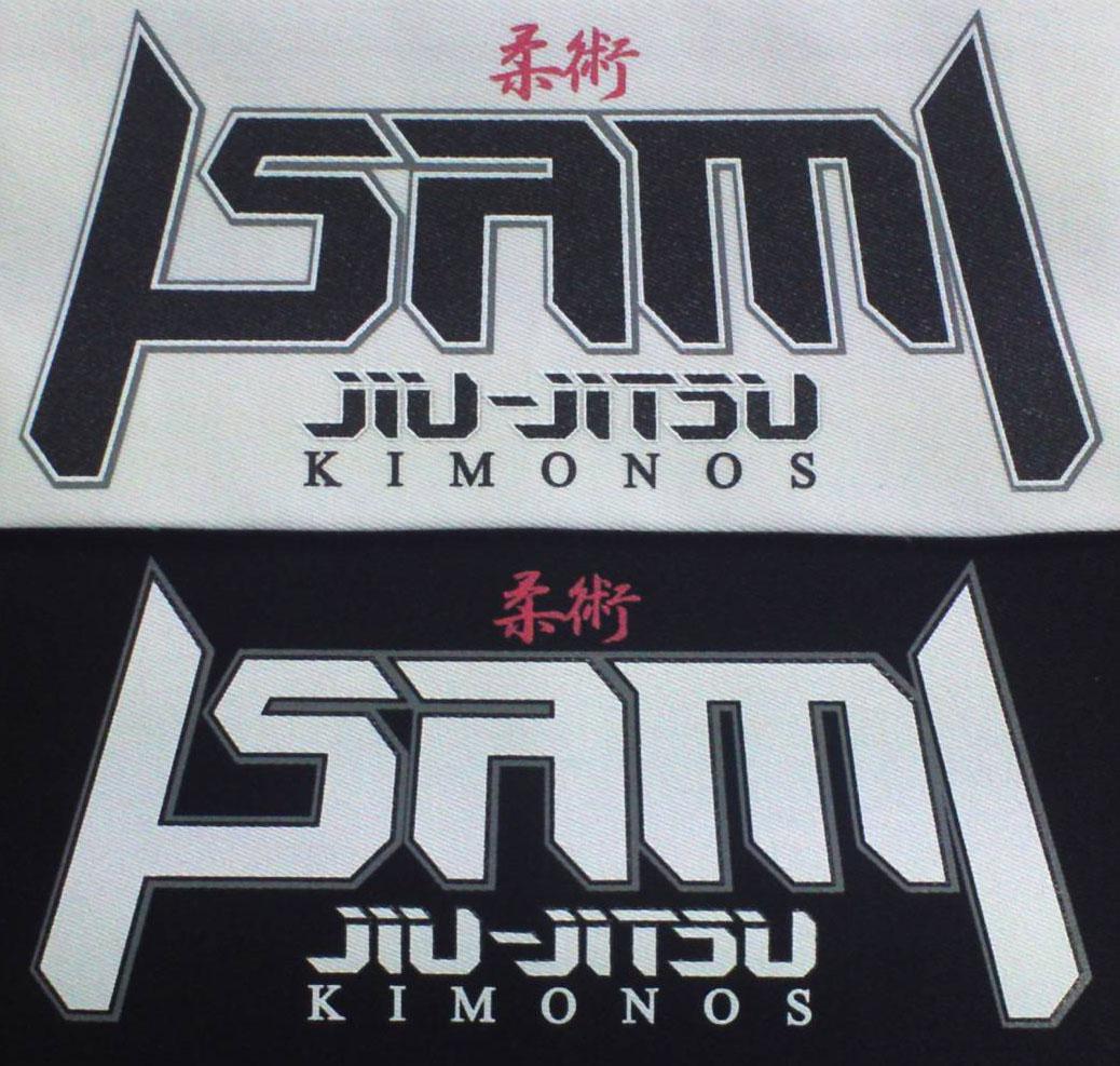 ISAMI jiu-jitsu 横長パッチ