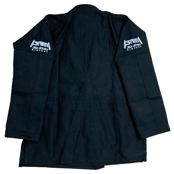 JJ-885B ISAMI BJJ道衣(上衣のみ) 黒