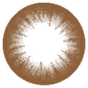 カラコン 1ヶ月使用 キラキラアイズ パームチョコ 度あり 度なし (1箱2枚入り) カラーコンタクトレンズ マンスリー 14.0mm Palm Choco