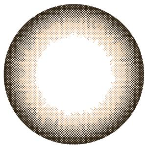 カラコン 1ヶ月使用 キラキラアイズ マロンブラウン 度あり 度なし (1箱2枚入り) カラーコンタクトレンズ マンスリー 14.5mm Marone Brown
