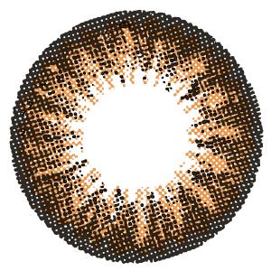 カラコン 1ヶ月使用 キラキラアイズ トゥインクルヘーゼル 度あり 度なし (1箱2枚入り) カラーコンタクトレンズ マンスリー 14.5mm Twinkle Hazel