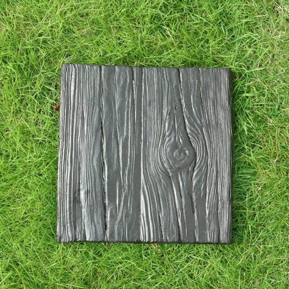 ウッドスクエア敷石(FRP素材) 敷石 枕木 擬石 FRP素材