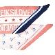 I LOVE JKSスカーフ