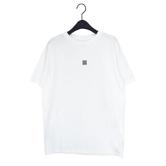 QRコードTシャツ