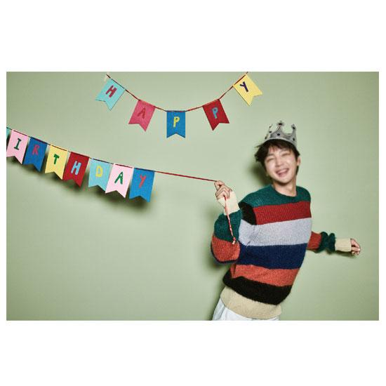 JKS フォト  Endless Birthday No.6(ガーランド2)