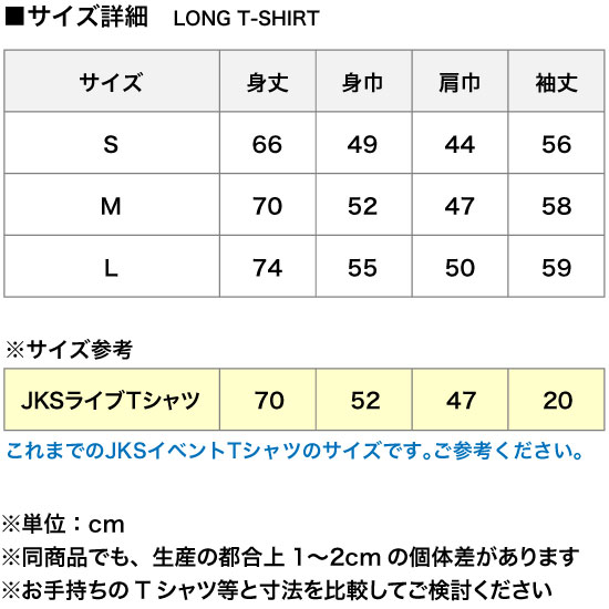 DECORATION ver. JKS GRAPHIC LONG TSHIRT ホワイト