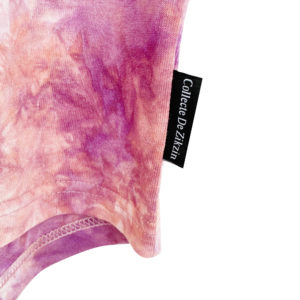 タイダイ柄ドルマンTシャツ purple