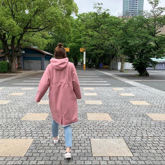 Z Rain Coat pink