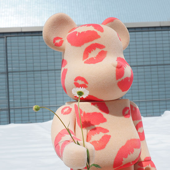 BE@RBRICK × Collecte De Zikzin YOU KISSED MY HEART 400%