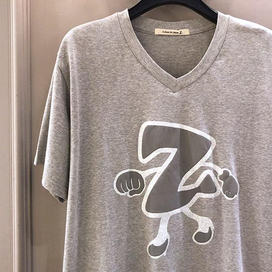 Z Tシャツ Grey