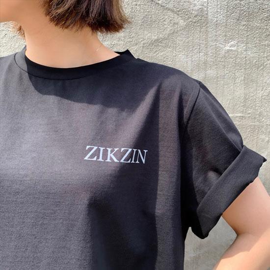 ZIKZIN Basic Tシャツ Black