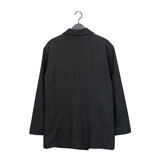 Z チェックジャケット Black