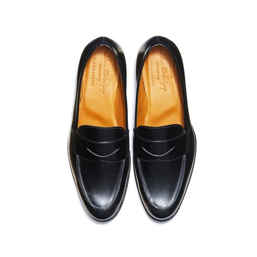 98610 / BLACK CALF (LEATHER SOLE)