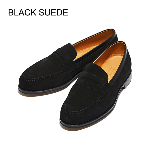 【SALE】 98589 / GREY SUEDE (LEATHER SOLE)