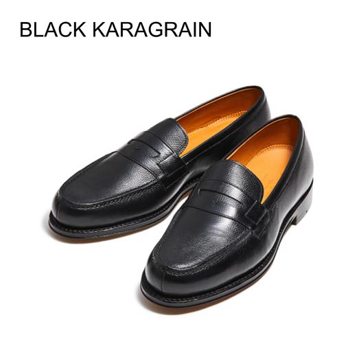 98589 / BROWN KARAGRAIN (LEATHER SOLE)